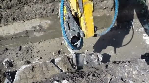 Hydraulické kladivo rypadlo