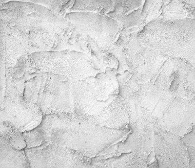 White plaster wall