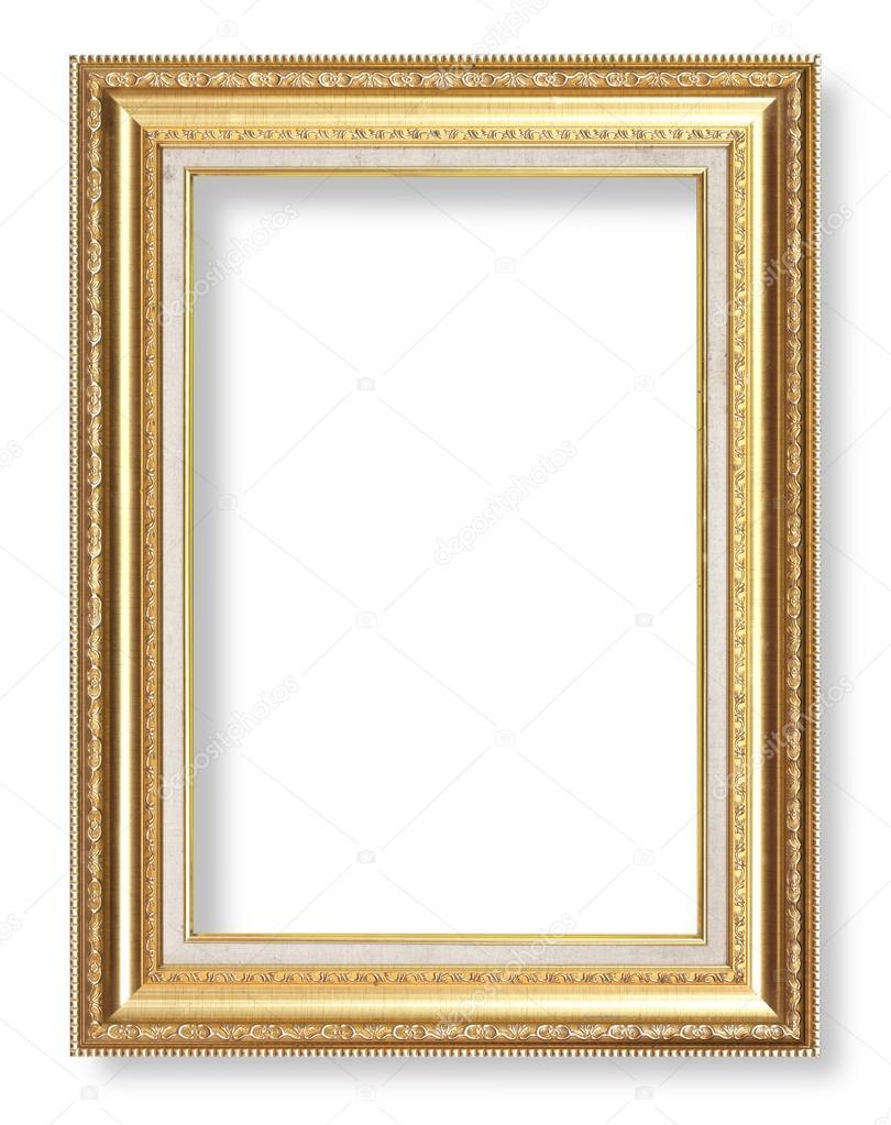 Antiguo marco oro antiguo — Fotos de Stock © scenery1 #75076883