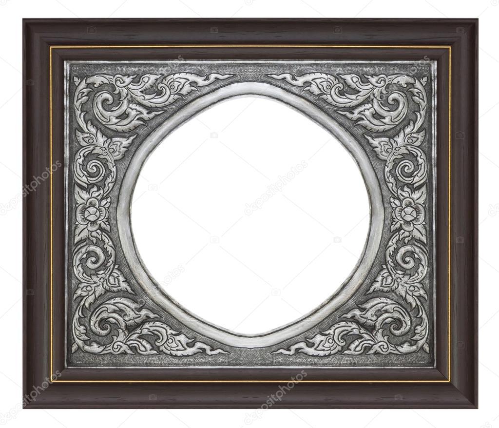 marco de fotos madera — Foto de stock © scenery1 #93829908