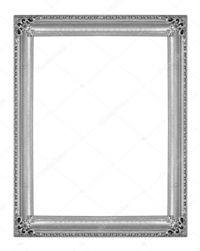 Picture Frames Silver — Stock Photo © scenery1 #99317048