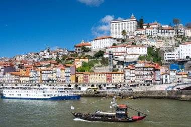 Oporto landscape and Douro river