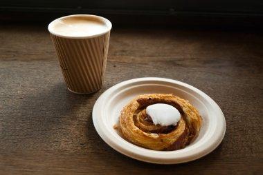 Danish snail pastry