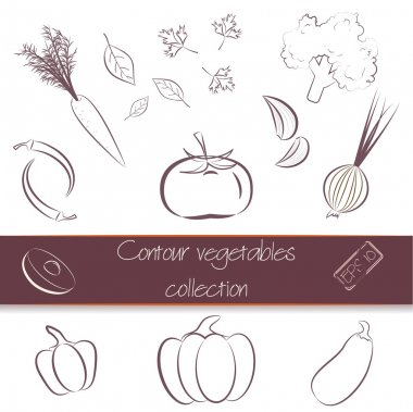 Contour vegetables super pack