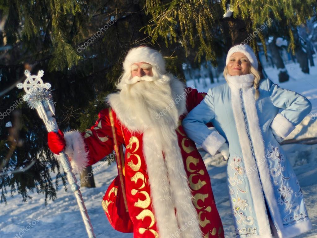 Geschenke Russland Weihnachten.Russische Weihnachten Weihnachtsmann Stockfoto Sergo221972 91851154