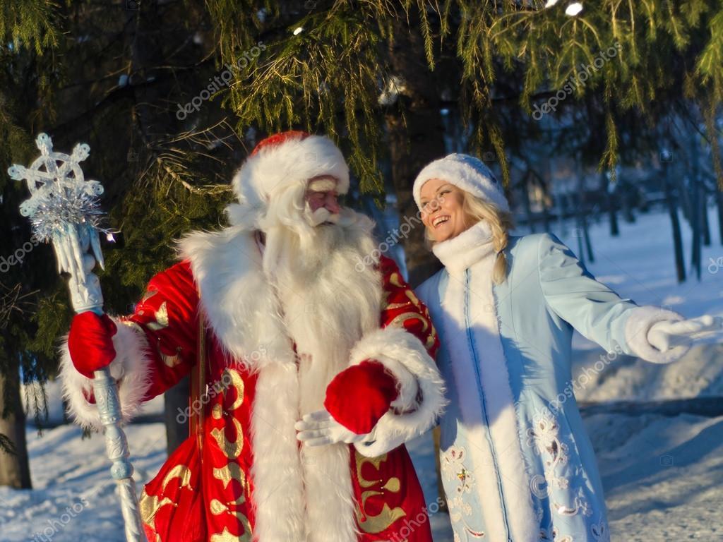 Geschenke Russland Weihnachten.Russische Weihnachten Weihnachtsmann Stockfoto Sergo221972 91851320