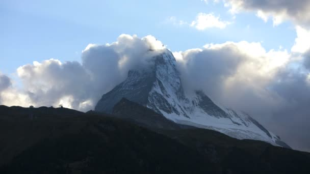 cloud formations over Matterhorn