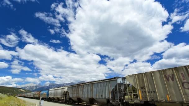 Canadian Pacific Railroad nákladní vlak