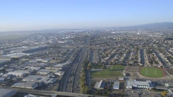 Letecká předměstské dálnice San Francisco