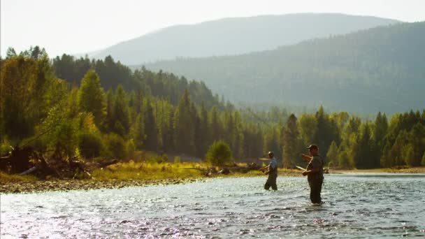 Males in freshwater fly fishing