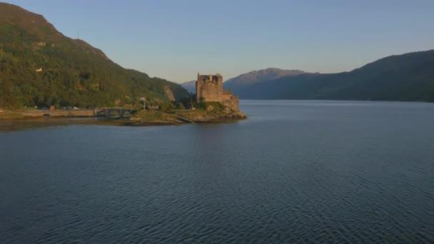 Eilean Donan castle Loch Duich, Skotsko