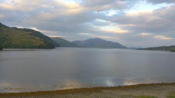 Loch Duich za soumraku, Skotsko