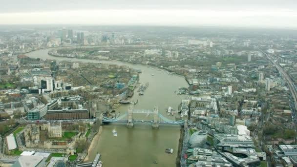 Tower Bridge by River Thames, England