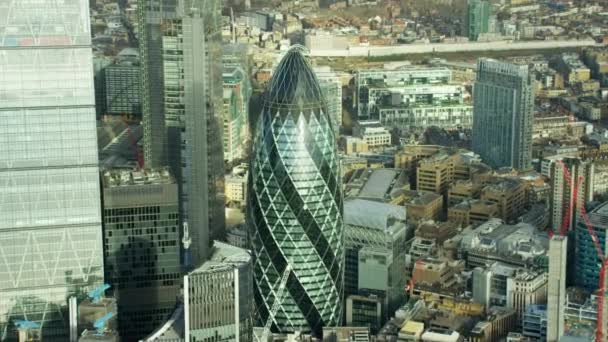 Okurka nakládačka mrakodrap v městě Londýn