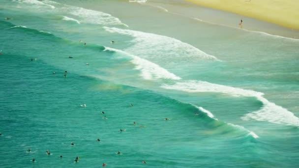swimmers at Bondi Beach, Sydney