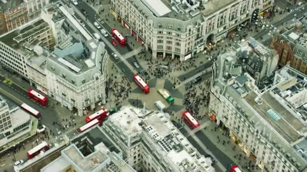 buildings around Oxford Circus in London