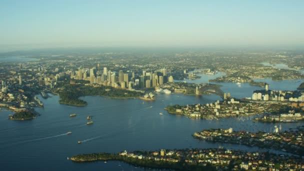 Sydney city and bay, Australia