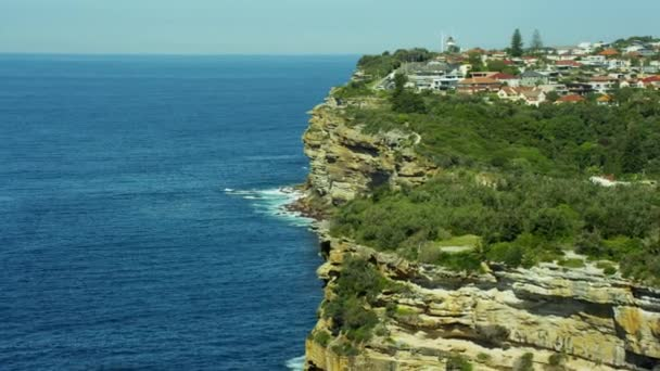 shoreline and Macquarie Lighthouse in Sydney