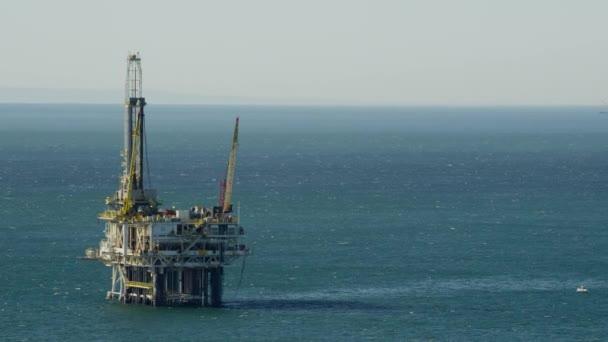 Offshore plyn vrtání v Tichém oceánu