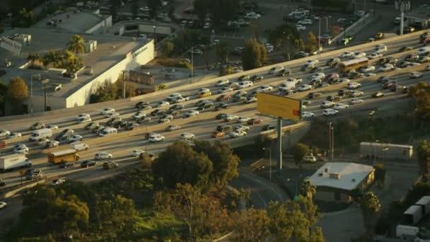 zvýšená dálnici město Los Angeles