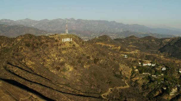 A Hollywood Hills Hollywood sign