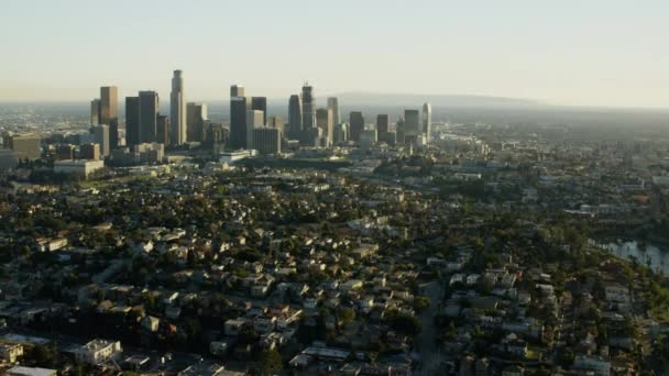 skyline downtown of Los Angeles