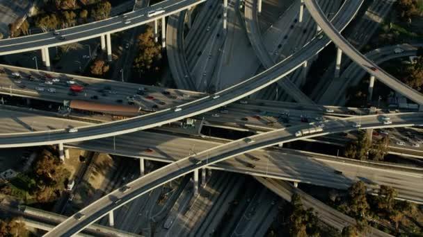 ranní dojíždějících systémem dálnice z Los Angeles