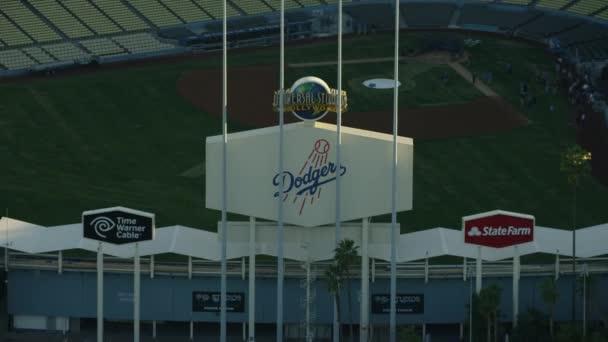 Los Angeles Dodgers Honkbalstadion Stockvideo Spotmatik 124634964