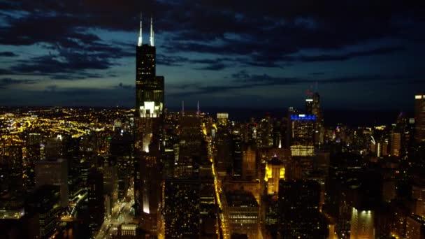 metropolitní město Chicago