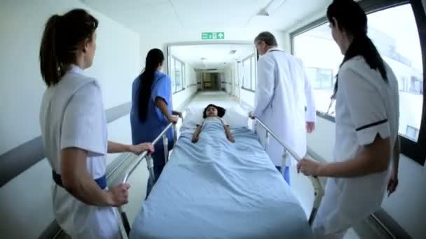 pacientů oddělení přenosu nemocniční lůžko