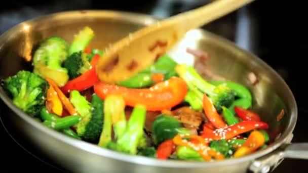 detail barevné míchejte fry zelenina