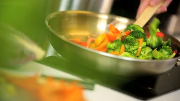 Healthy Lifestyle Stir Fry Cooking