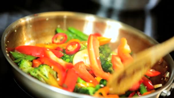 barevné organické restované zelenině