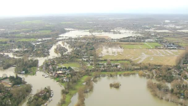 Environmental damage by floodwater