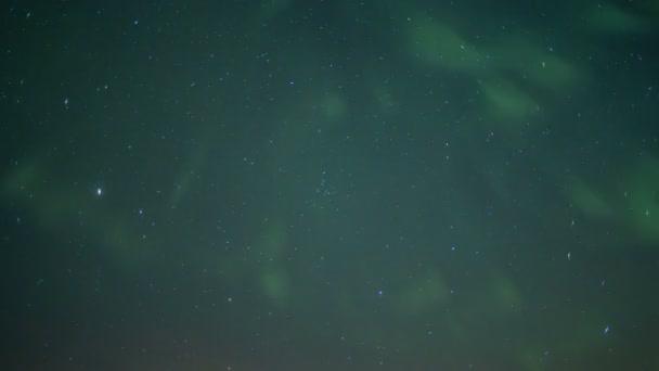 Norský obloha s Northern Lights