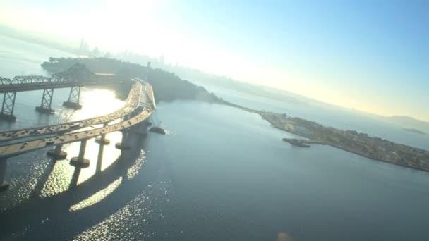 Vzdušný nového hangáru visutý most, San Francisco