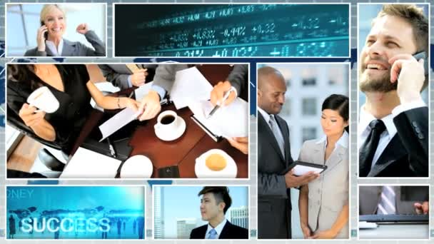 Montage video ethnic business strategy