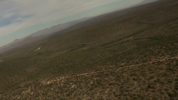 Baja California neplodná vyprahlé pouštní příroda