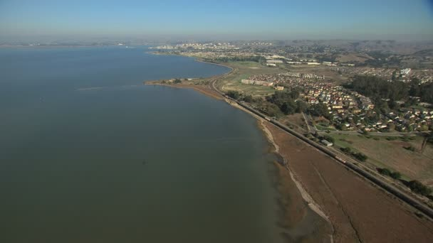 Anténa pobřeží Hercules bodu přírody San Francisco Usa