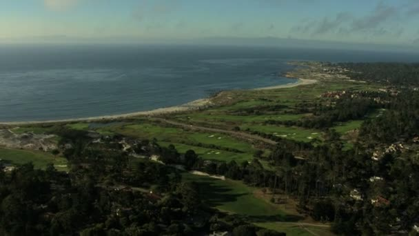 Vzdušné golfové hřiště sport Monterey, Kalifornie Usa