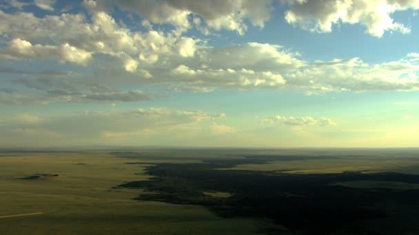 Vzdušný Idaho Usa láva magma vegetace přírodní