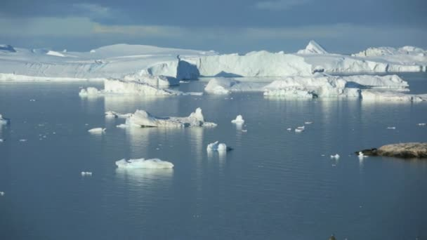 Harbor Greenland Ilulissat and drifting ice floes