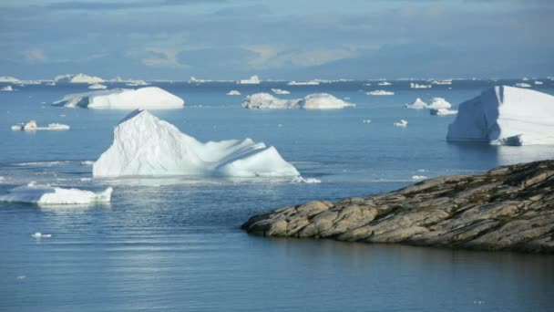 Glacier at Ilulissat  and arctic floes