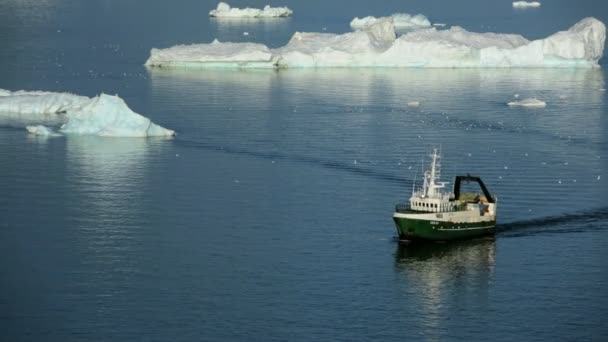 Fishing Trawler at Disko Bay Greenland