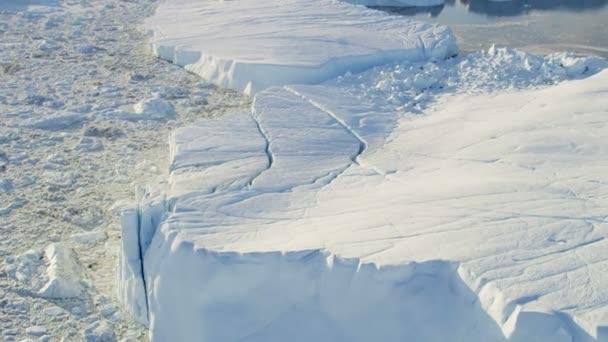 Glaciers Frozen Mass Disko Bay Greenland