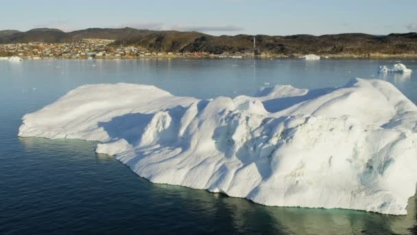 Melting Arctic Icecap Glacial Disko Bay
