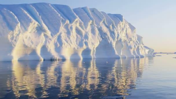Disko Bay UNESCO site arctic glacier