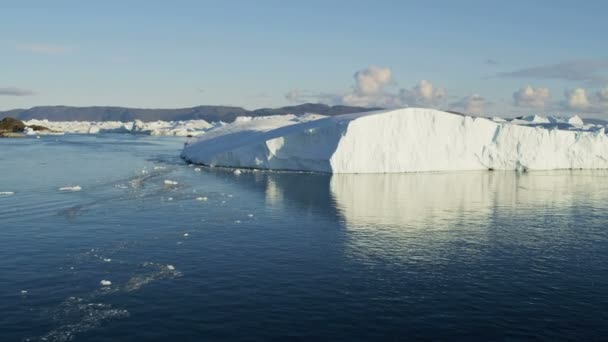 Drifting Ice Fjord Greenland