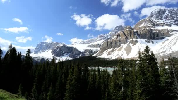 Canada Snow Mountains Glacial Lake