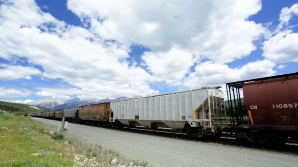 Canadian Railroad Freight train